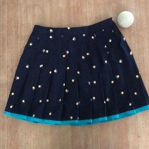 Vintage Tail Navy Tennis Skirt W Decals